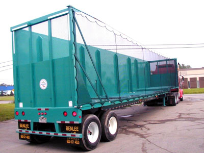Crushed Car Trailers Haulers For Sale At Benlee