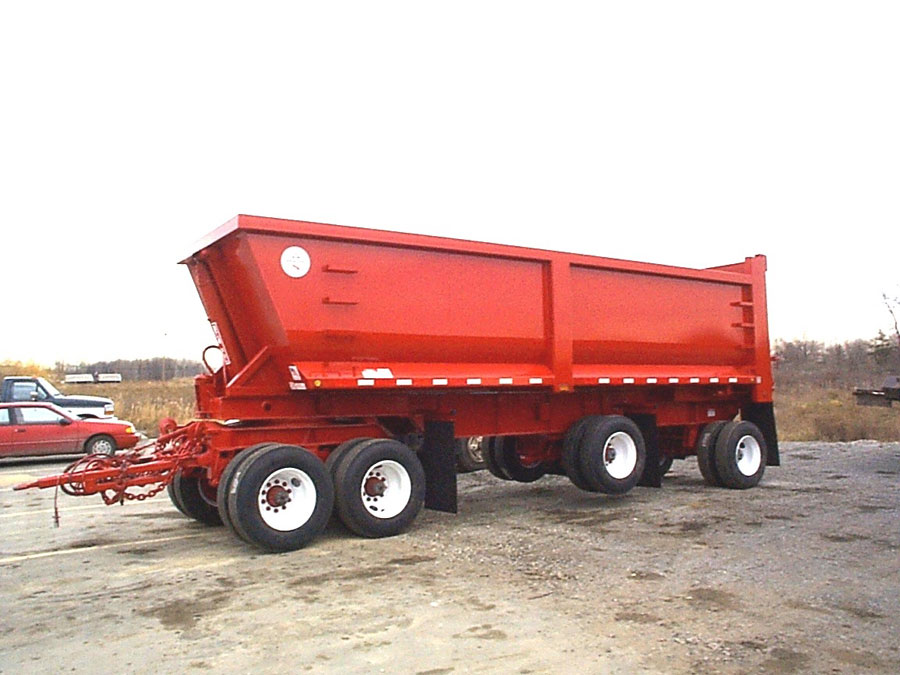 Roll Off Dump Trailers For Sale At Benlee
