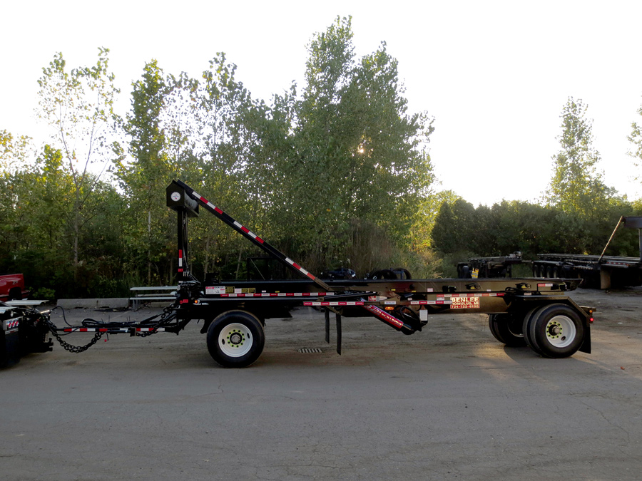Pup roll off trailers for sale
