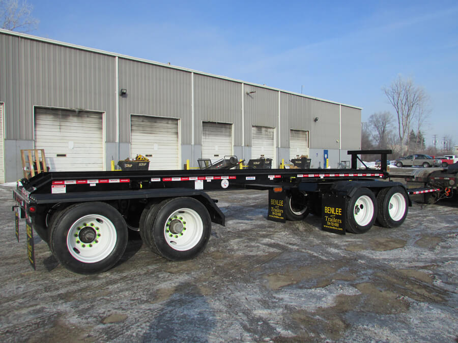 Pup Trailers Pup Roll Off Trailer Pup Trailers For Sale