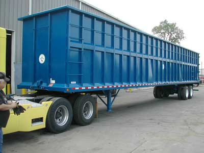 Gondola Scrap Trailer for Sale