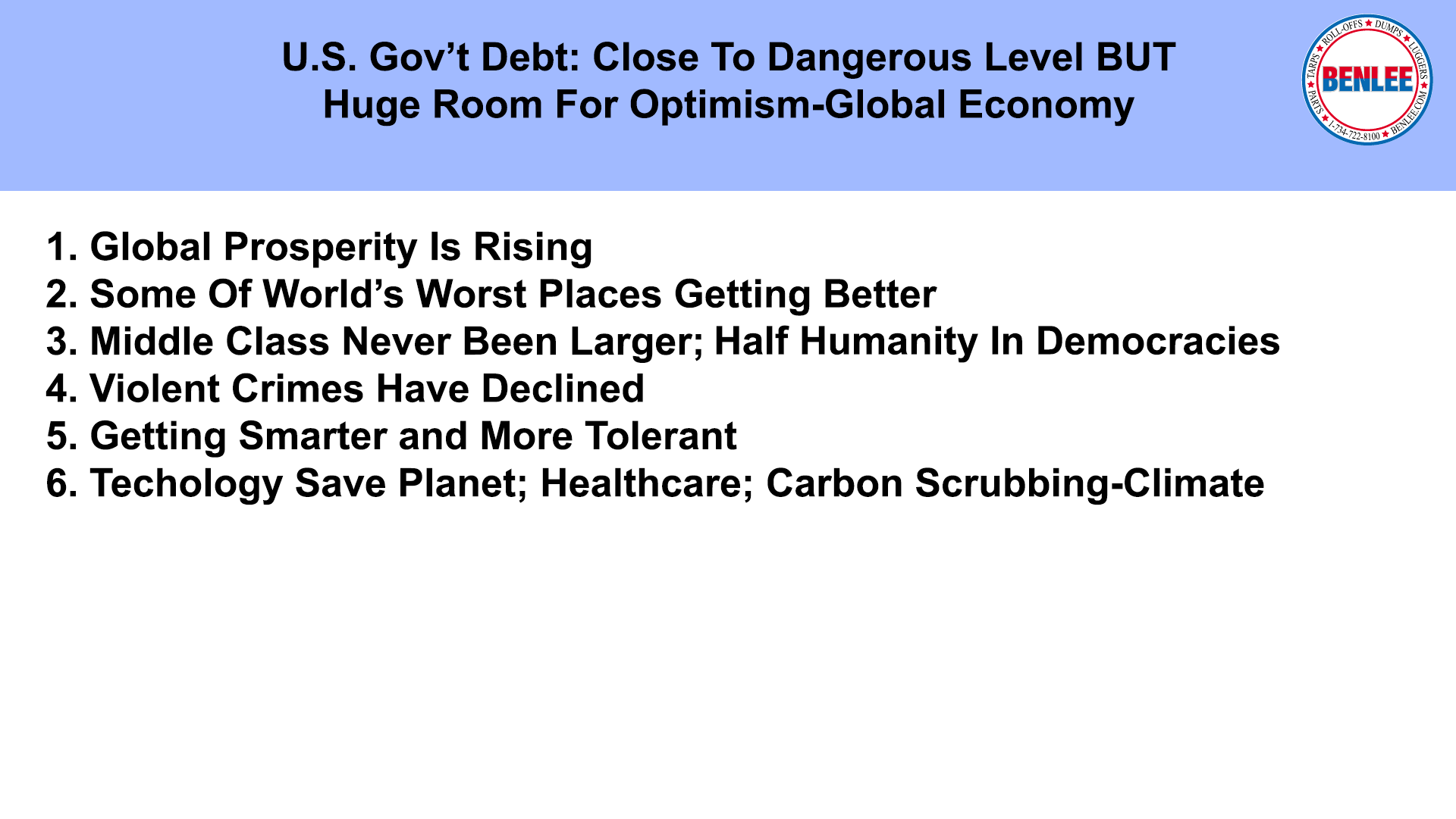 US Govt Debt