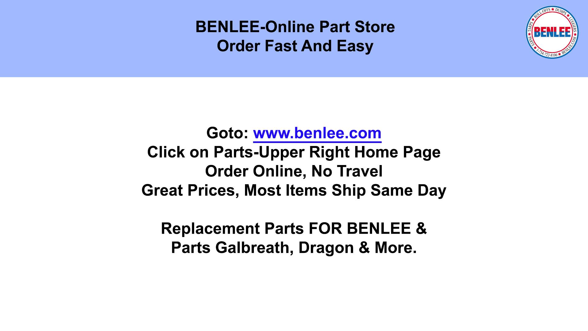 BENLEE Parts Store
