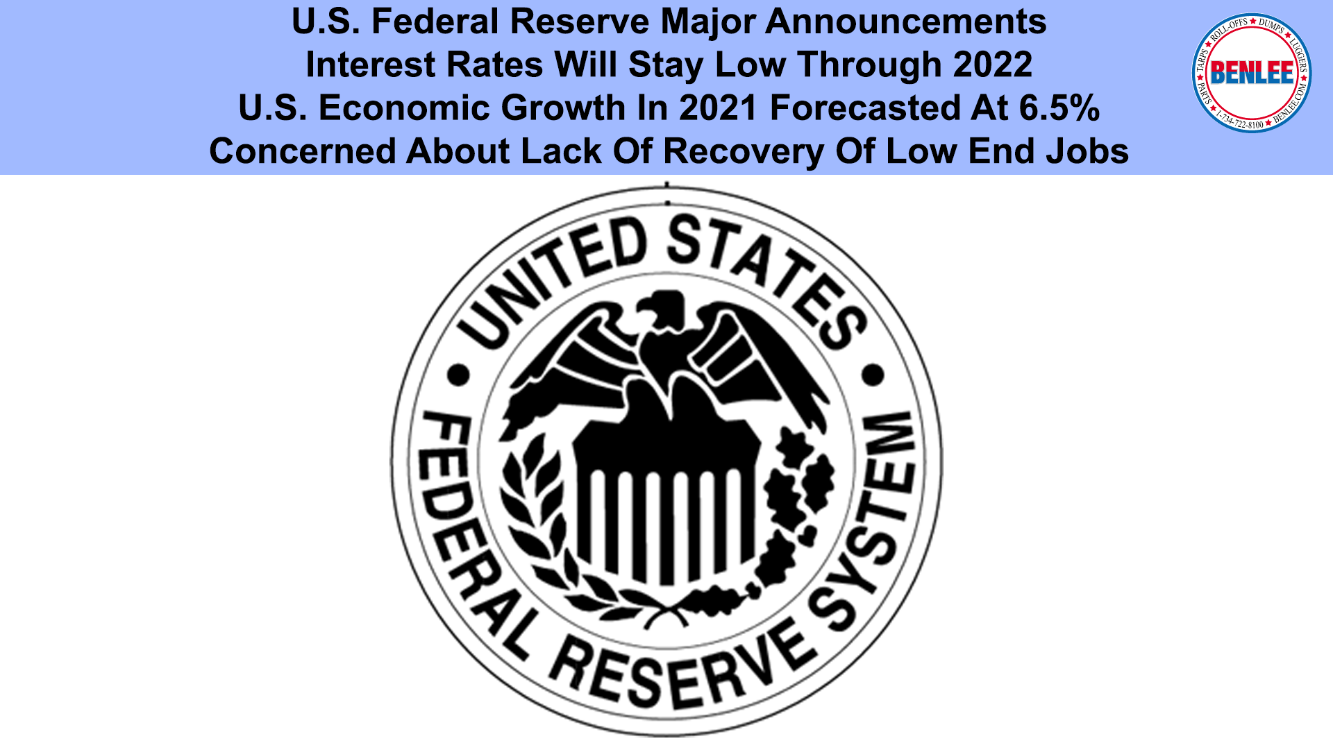 U.S. Federal Reserve Major Announcements
