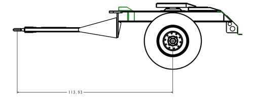 Fifth Wheel Converter Dolly