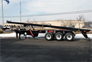 NEW 40' Conventional Tri axle roll off trailer