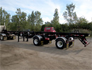 USED Double Box Roll off trailer