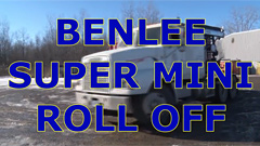 Roll off Trailer - BENLEE Super Mini