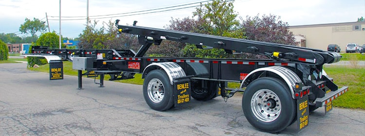 BENLEE Two Box Trailer