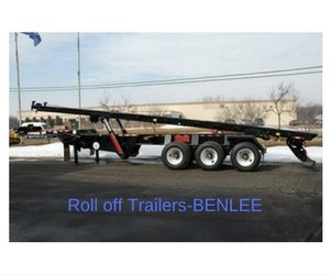 Roll off trailers for sale, BENLEE
