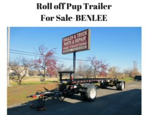 Roll off Pup TrailerFor Sale-BENLEE