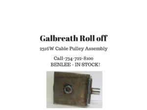 BENLEE.Galbreath.2316W.pulleyr1