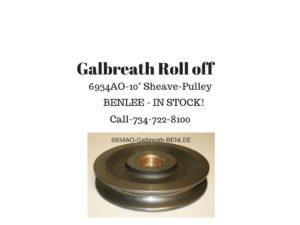 BENLEE.galbreath.6934AO.sheave